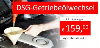DSG-Getriebeölwechsel